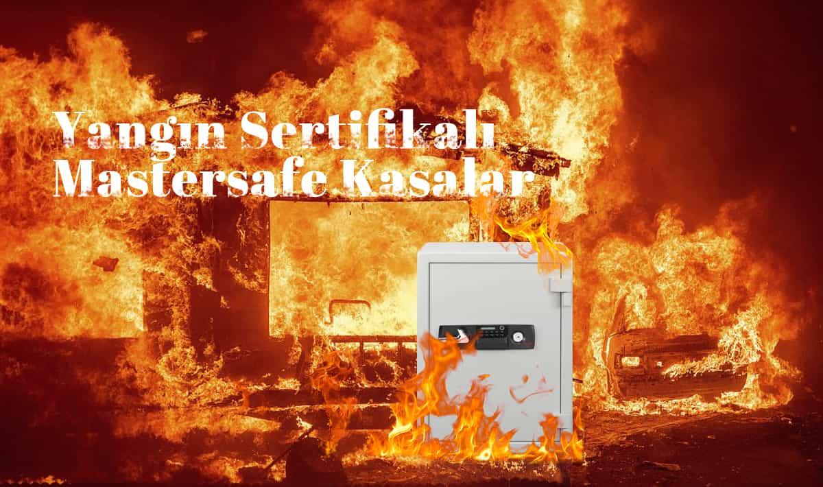 Yangın Sertifikalı Mastersafe Kasalar